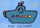 FAX Sublabel (PS)