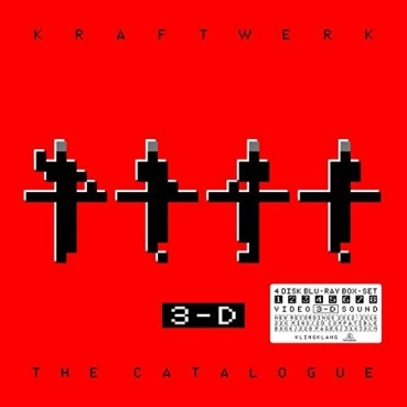 Kraftwerk - 3-D The Catalogue (English) (4 Blu Ray)