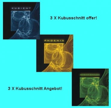 Kubusschnitt - 3 CD Offer